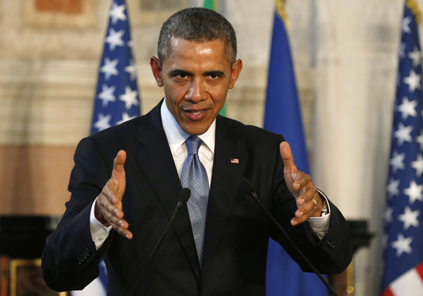 Obama claims US credibility on line with Iran deal