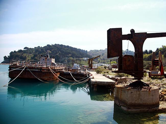 Derelict Albanian military island opens up to tourists