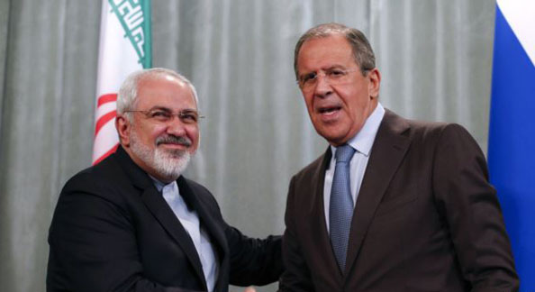 Russian, Iranian FMs discuss developments in Syria