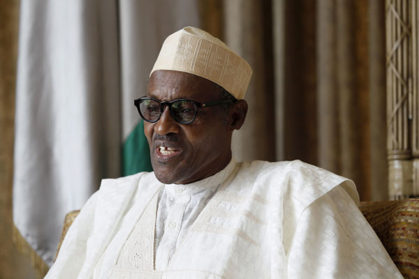 Nigeria's Buhari gives 1st speech to nation since return