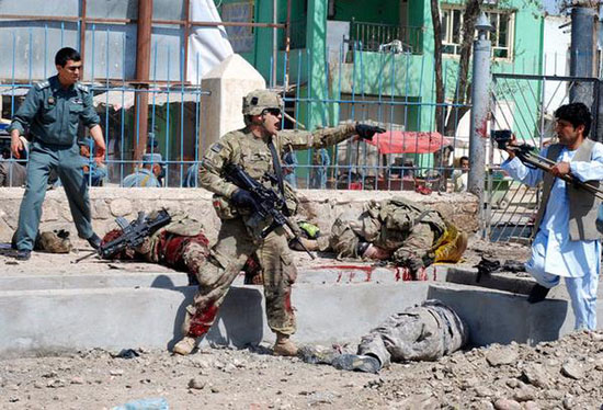 NATO civilian contractors dead as Kabul blast toll hits 35