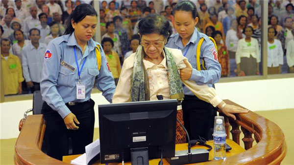 Khmer Rouge minister accused of genocide dies aged 83