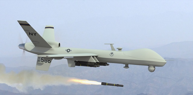 US drone kills 5 suspected Taliban men in Afghanistan