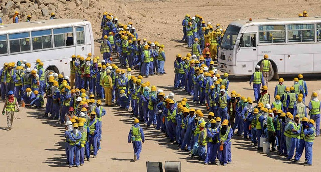 India feeds thousands of Gulf workers 'in crisis'