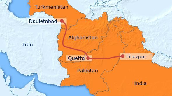 Turkmenistan begins work on gas pipeline to India