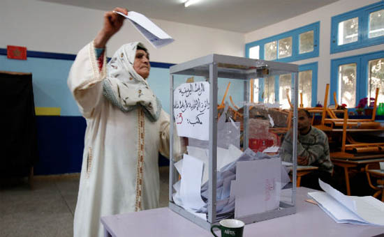 Leading Moroccan party in test for votes