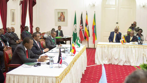 AU, IGAD meet in Nairobi to discuss regional security