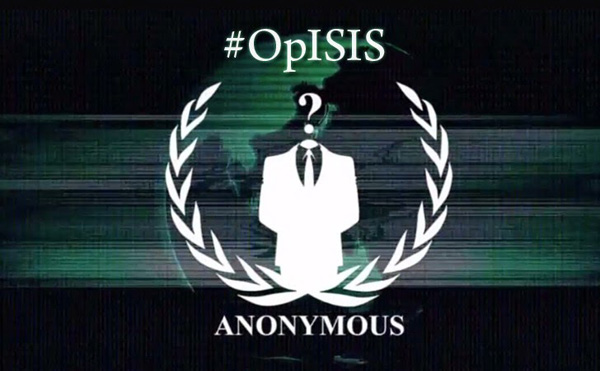 Anonymous targets Islamic faith profession message
