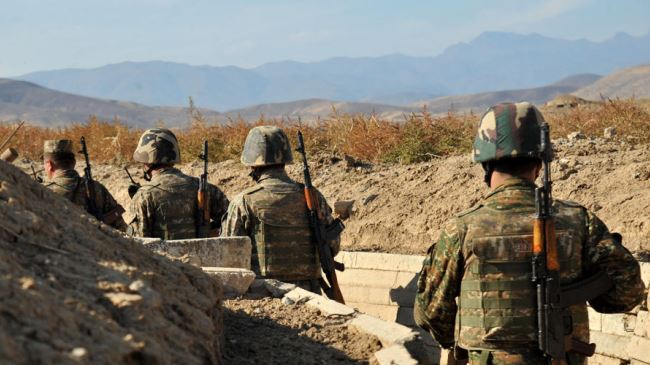 Azerbaijani soldier martyred by Armenian gunfire