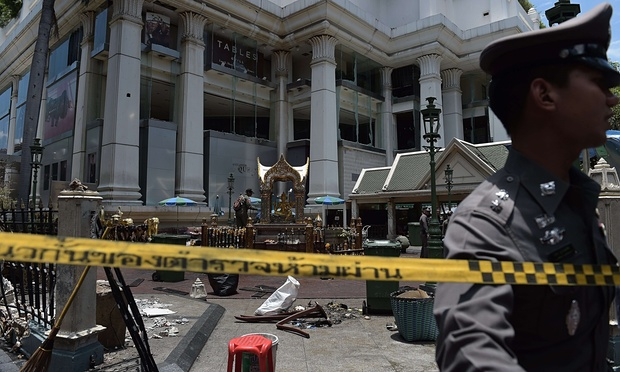 Thai police link local politics to Bangkok bombing
