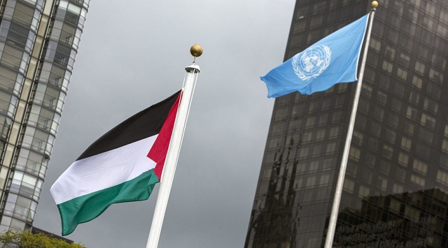US university orders removal of Palestinian flag