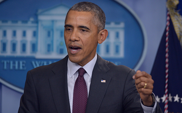 Obama vetoes $612 bn defence bill, aid for Ukraine,Syria