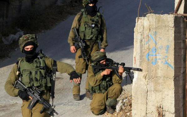 Palestinians wounded in Zionist attack