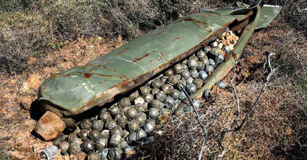 Russia uses cluster bombs on civilians