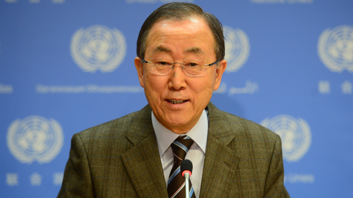 UN chief urges global action on Syrian refugee crisis