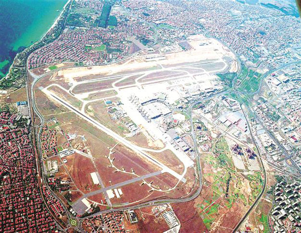 Third Istanbul airport opening delayed