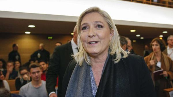 Le Pen plan to jettison euro spooks French business
