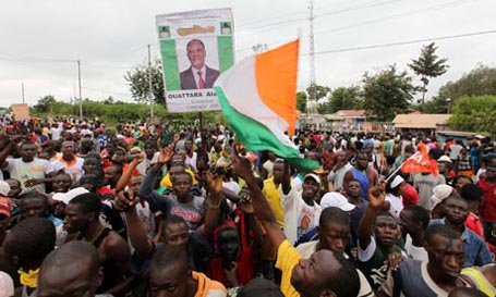 Incumbent expected to win Ivory Coast's election