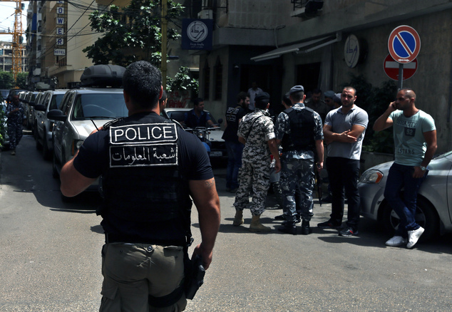 Lebanese army foils suicide bombing in Beirut