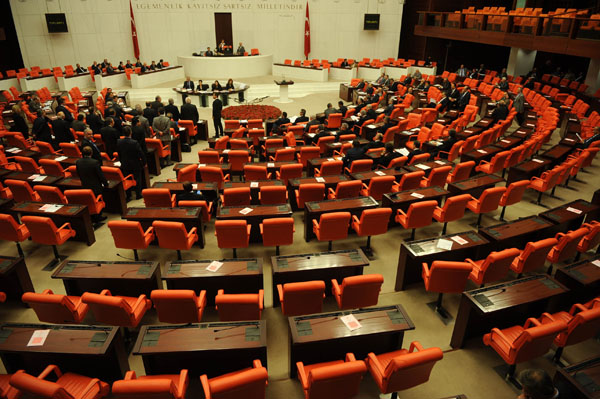 Turkish parliament's 26th term begins