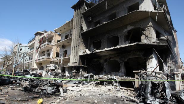 Syria rebels launch fresh assault on east Damascus