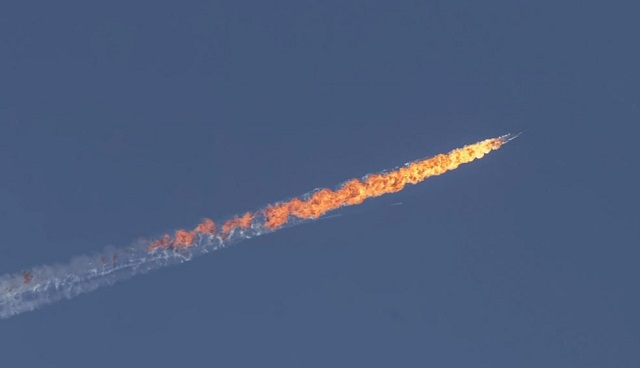 Fighter jet downed by Turkey confirmed Russian