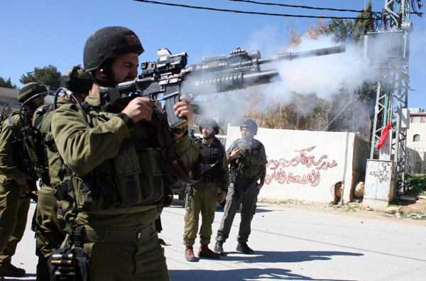 Israeli army shoot dead 19yr old in refugee camp