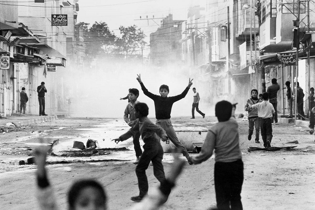 28th anniversary of the First Intifada