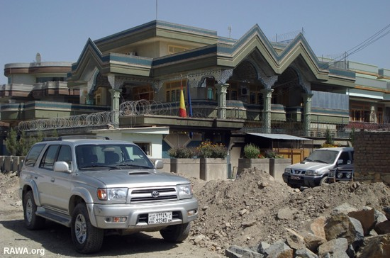 Spanish embassy attacked in Afghanistan