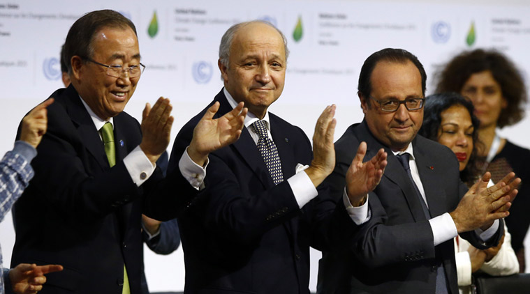 World adopts historic climate change pact