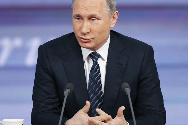 Putin says climate change not manmade