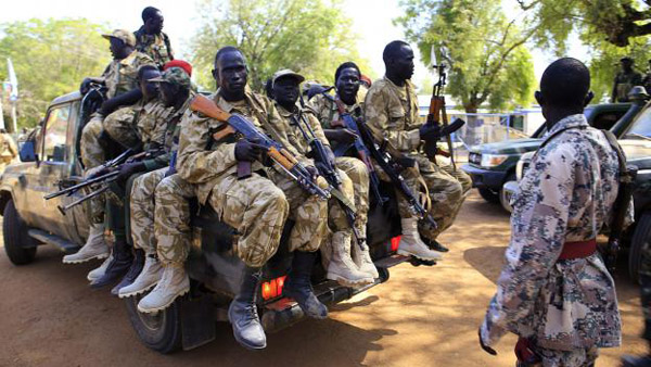 S.Sudan rebels return to capital for peace process