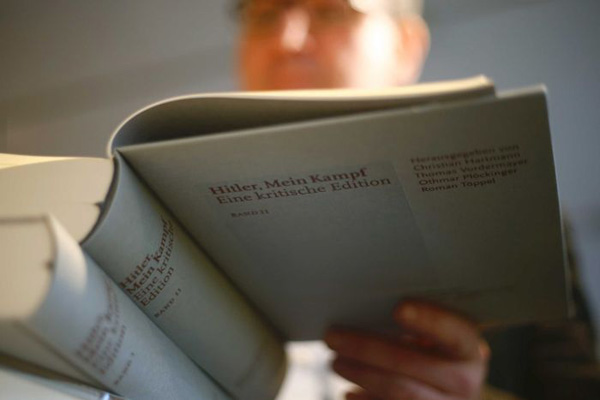 'Mein Kampf' reprints hit German bookstores