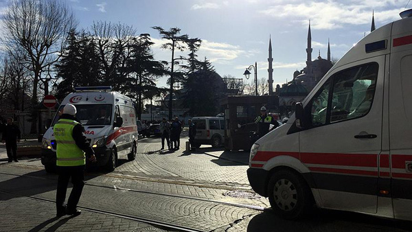 10 people killed in Istanbul explosion