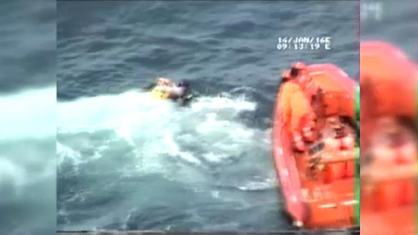Turkish Coast Guard video shows dangers for refugees