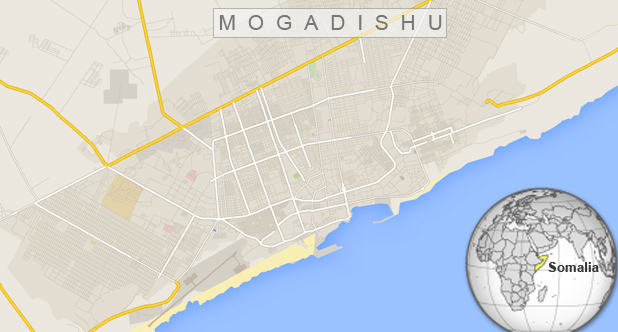 Double car bomb attacks kill 3 in Mogadishu