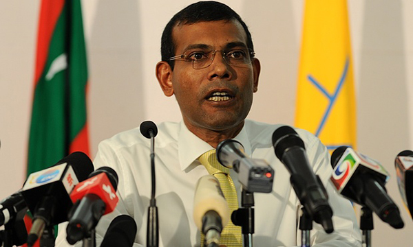 Ousted Maldivian president vows to return to top post