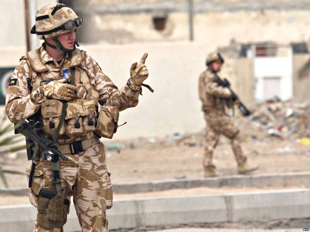 60 probes into UK soldiers' actions in Iraq dropped