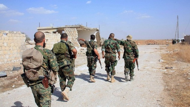 Syrian regime forces roll into W. Damascus suburb