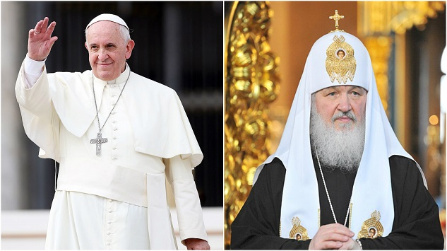 Pope to meet with Russian Orthodox leader