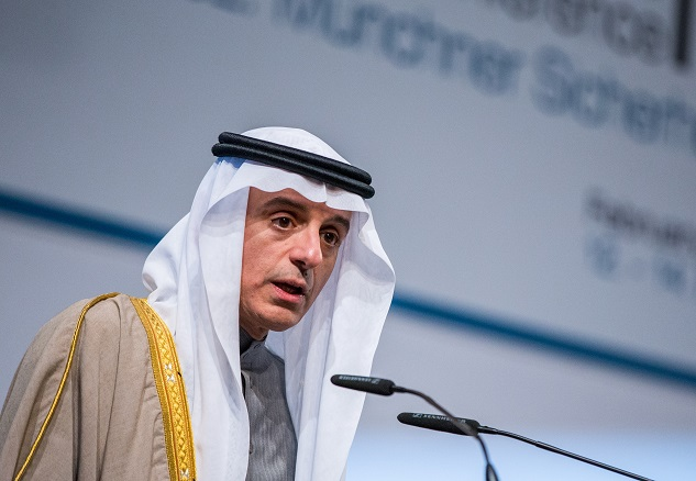 Saudi Arabia calls for Iran policy change