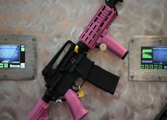 US firearms industry marketing to children
