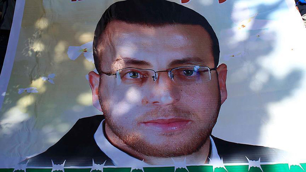 Palestinian hunger striker dangerously close to death
