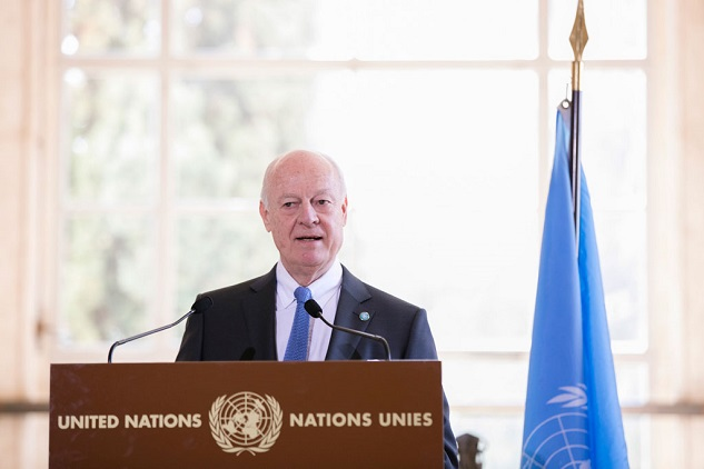 UN envoy says next phase in Syria talks 'crucial'