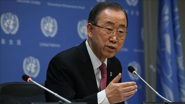 UN chief calls for Syrian case to be referred to ICC