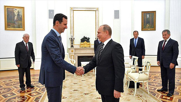 Blood brothers? Kremlin to 'liberate' Syria under Assad