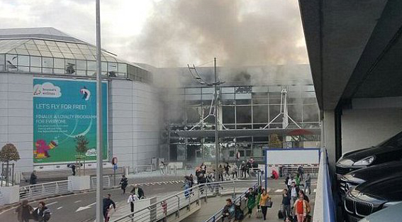 14 dead after explosions hit Brussels airport