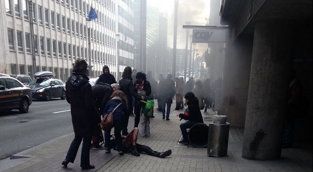 20 killed in blast at Brussels metro station