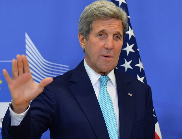 Kerry says no military solution for South China Sea