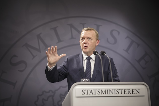 Danish PM launches new three-party coalition bid
